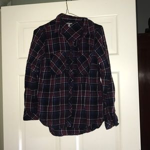 🖤Charlotte-Russe Flannel shirt 🖤